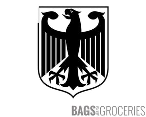 German Coat of Arms Eagle Sticker