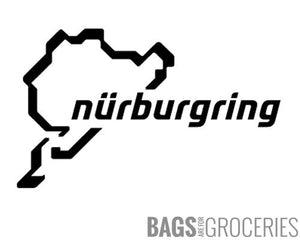 N��rburgring Sticker