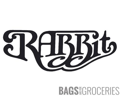 "Retro ""Rabbit"" Sticker"