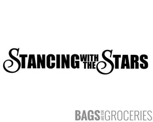 Stancing with the Stars Sticker