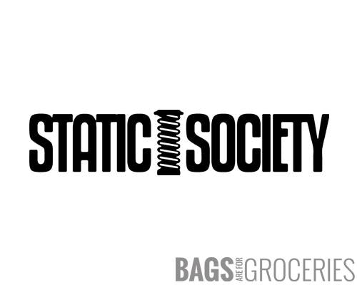 Static Society Sticker