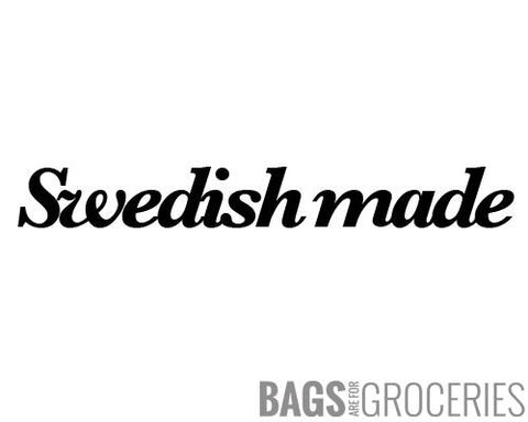 Swedish Made Sticker