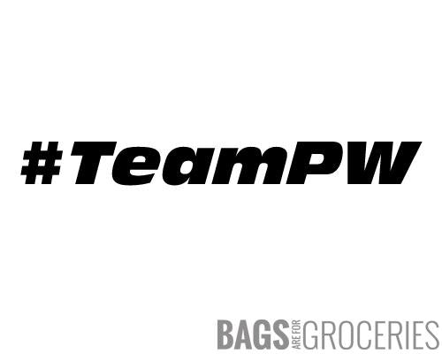 """#TeamPW"" Sticker"