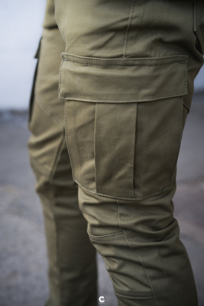 Cargo Pants - Olive - Golden Denim