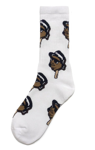 Socks - Eazy E - White