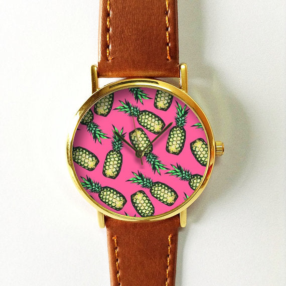 Tropical Fruit Pineapple Watch 3 - Freeforme