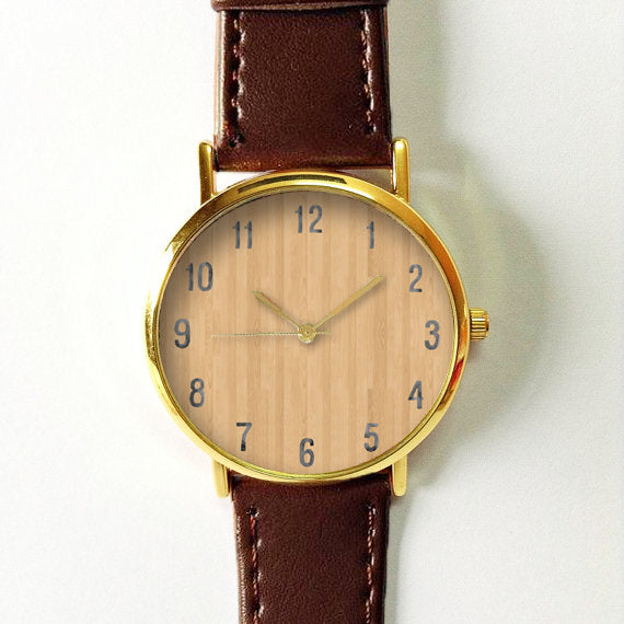 Oak Wood Watch - Freeforme