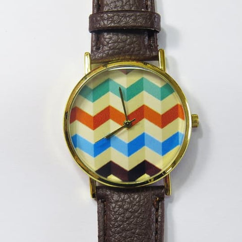 3D Chevron Watch - Freeforme