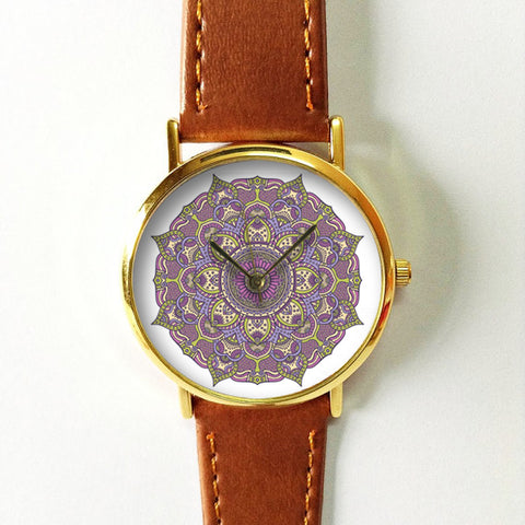 Purple Abstract Watch - Freeforme