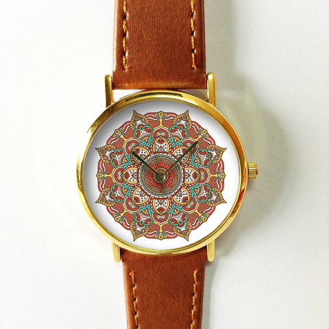 Earth Color Abstract Watch - Freeforme