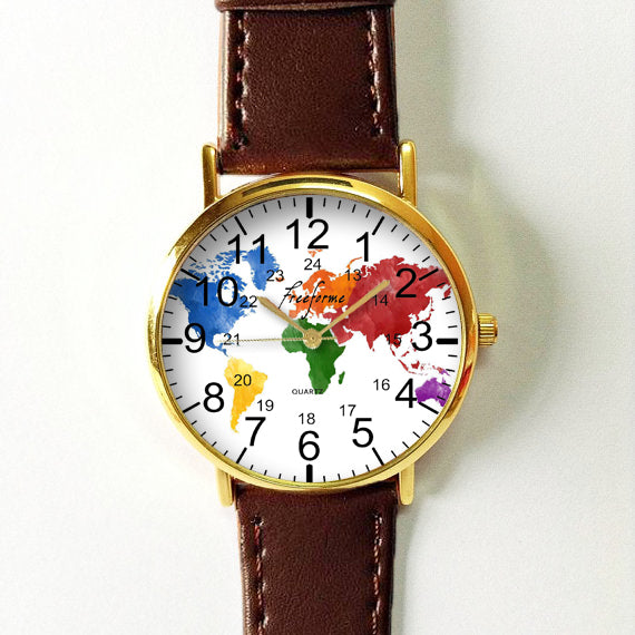Colored Map Watch - Freeforme