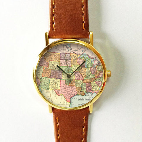 Globe Map Watch - Freeforme