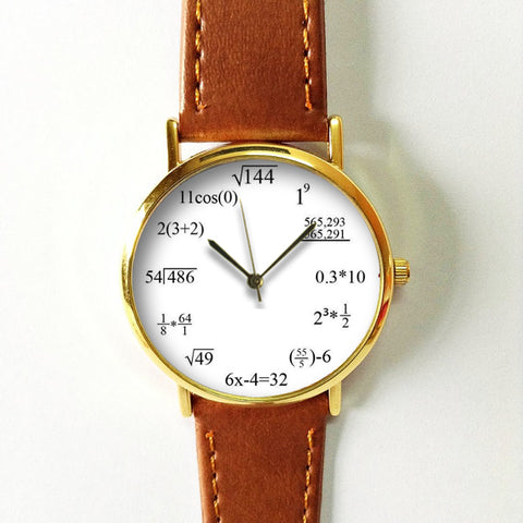 Math Equations Watch - Freeforme