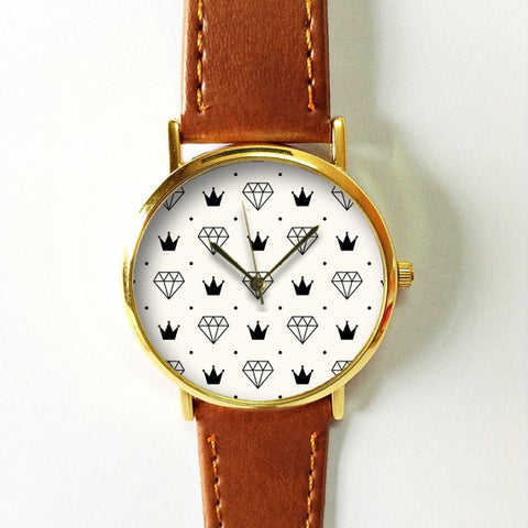 Crowns and Diamonds Watch - Freeforme