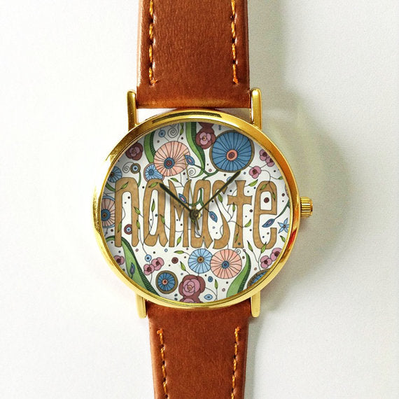 Floral Namaste Watch - Freeforme