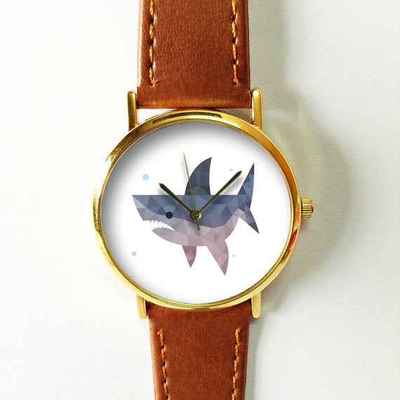 Geometric Shark Watch - Freeforme