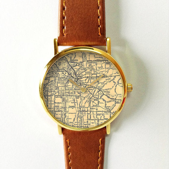 Los Angeles Map Watch - Freeforme
