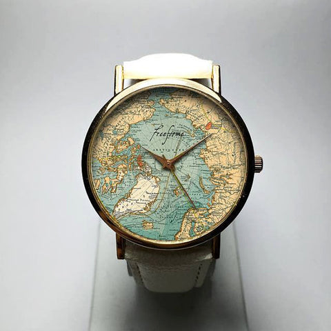 Arctic Ocean Map Watch - Freeforme