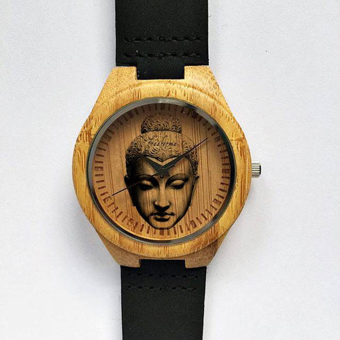 Buddha Wooden Watch - Freeforme