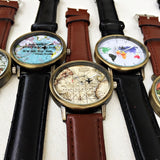 Green World Map Watch - Freeforme