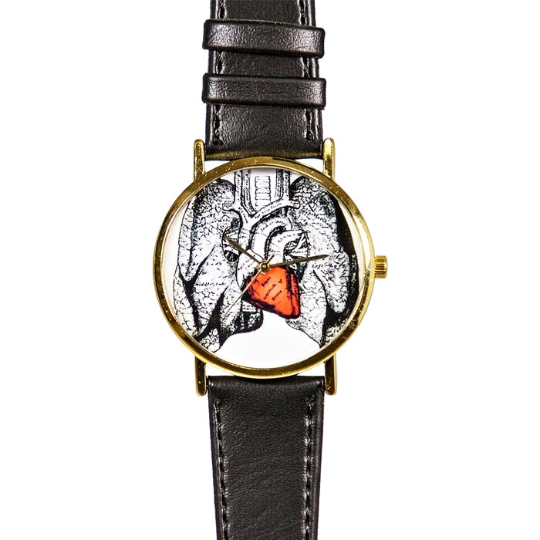 Human Heart Anatomy Watch - Freeforme
