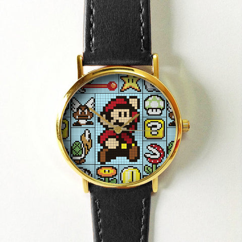 Super Mario 8Bit 2 Watch - Freeforme