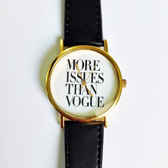 More Issues Than Vogue Watch - Freeforme