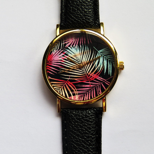 Ombre Tropical Palm Watch - Freeforme