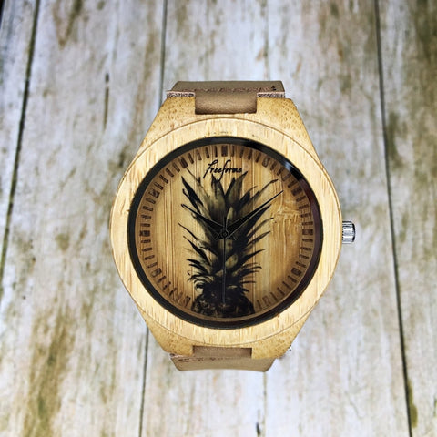 Pineapple Wooden Watch - Freeforme