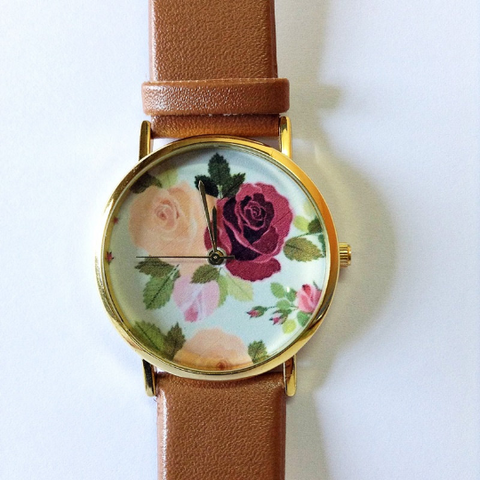 Rose Floral Watch - Freeforme