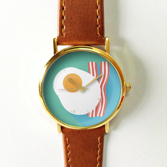 Sunny Side Up Egg with Bacon Watch - Freeforme