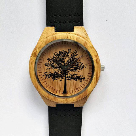 Tree of Life Wooden Watch - Freeforme