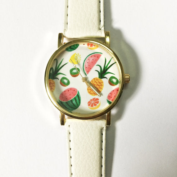 Tropical Fruits Watch - Freeforme