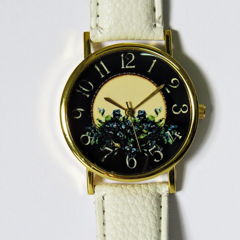 Vintage Floral Watch - Freeforme