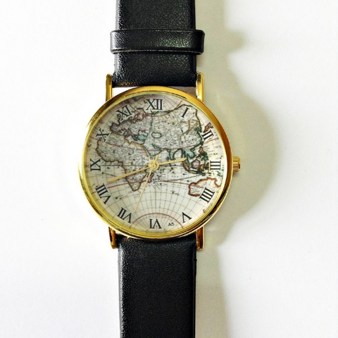 White Map Watch - Freeforme