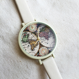 World Map Slim Watch - Freeforme