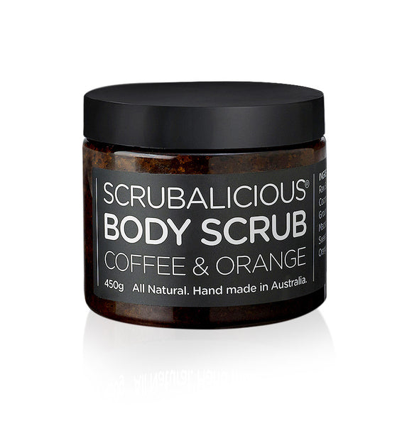 Scrubalicious Coffee & Orange Body Scrub 450g