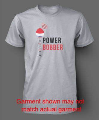 PowerBobber Logo T-Shirt - dark