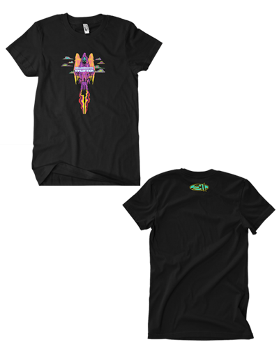 Rocket Angel Tee (Black)
