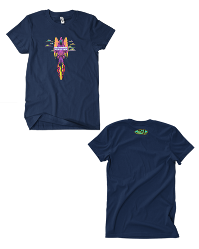 Rocket Angel Tee (Navy)