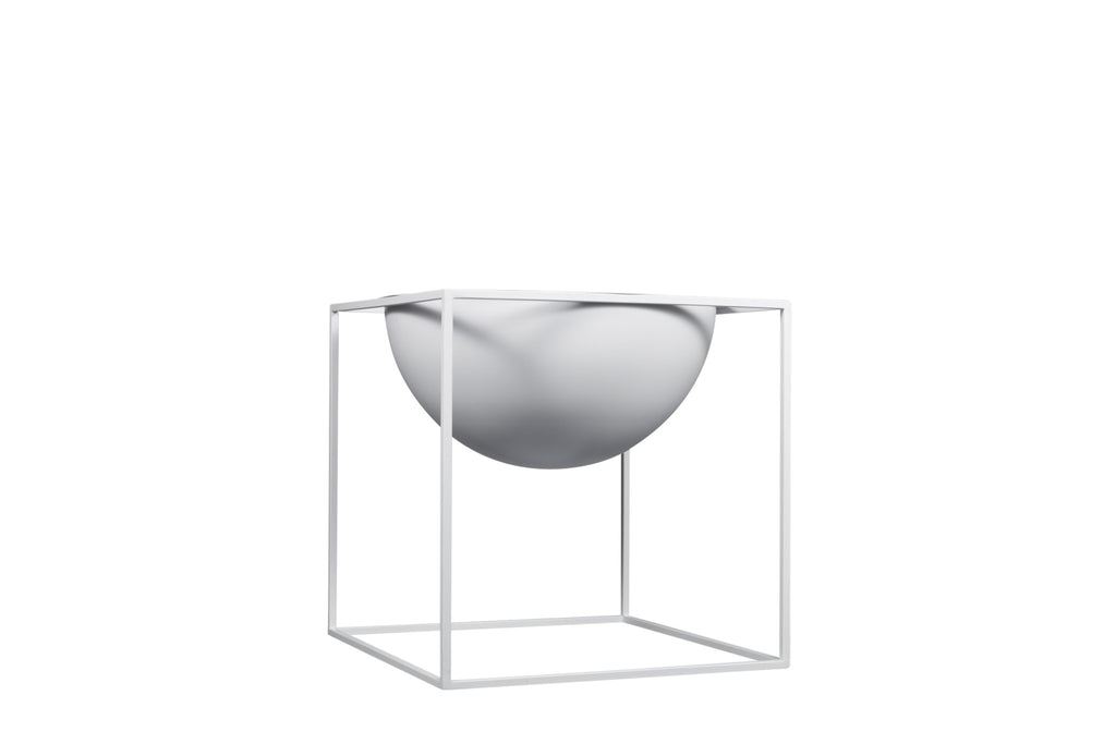 BRAQUE Large Planter // White