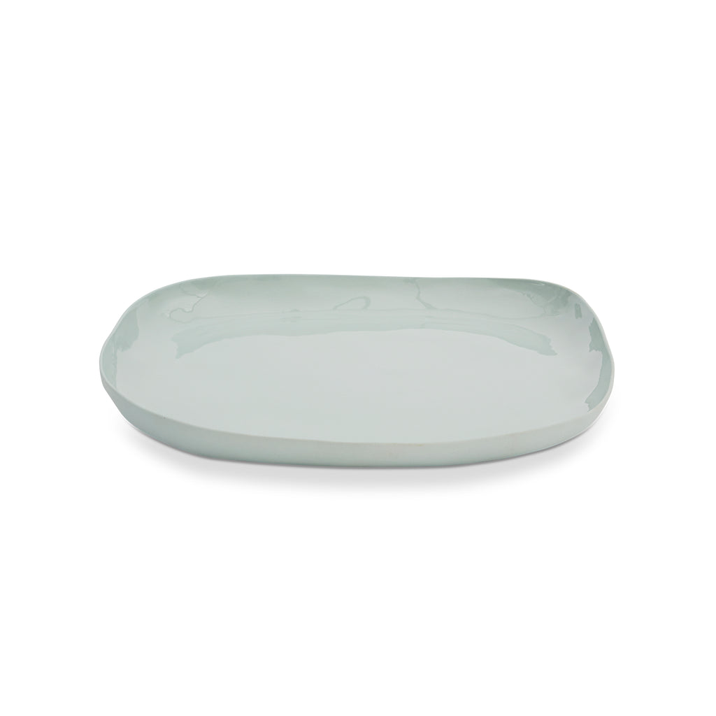 CLOUD Square Platter // Light Blue