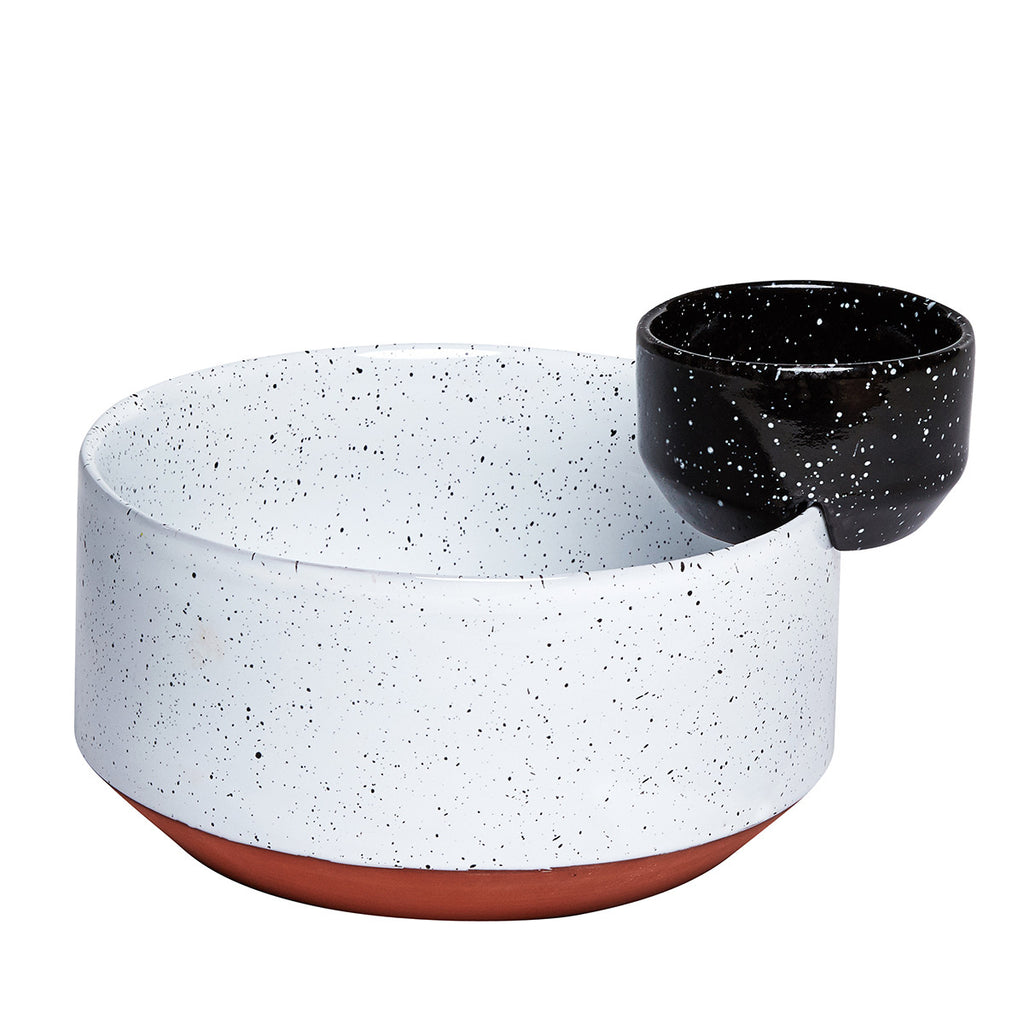 ECLIPSE Bowl // Black + White Speckle
