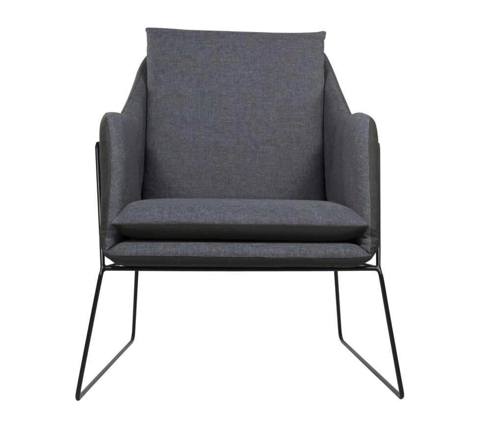 ELTSEN Armchair // Black Charcoal