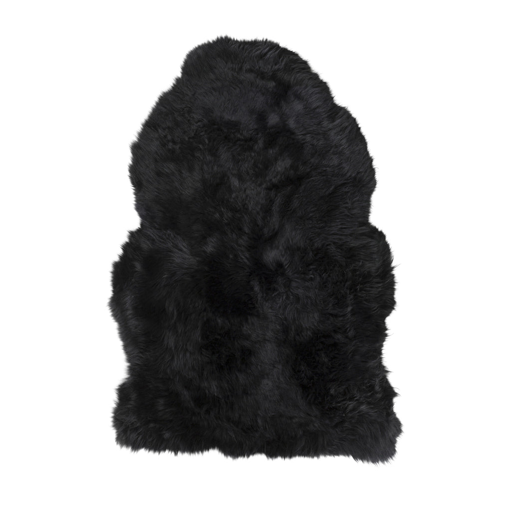 Wool Pile Sheepskin // Midnight