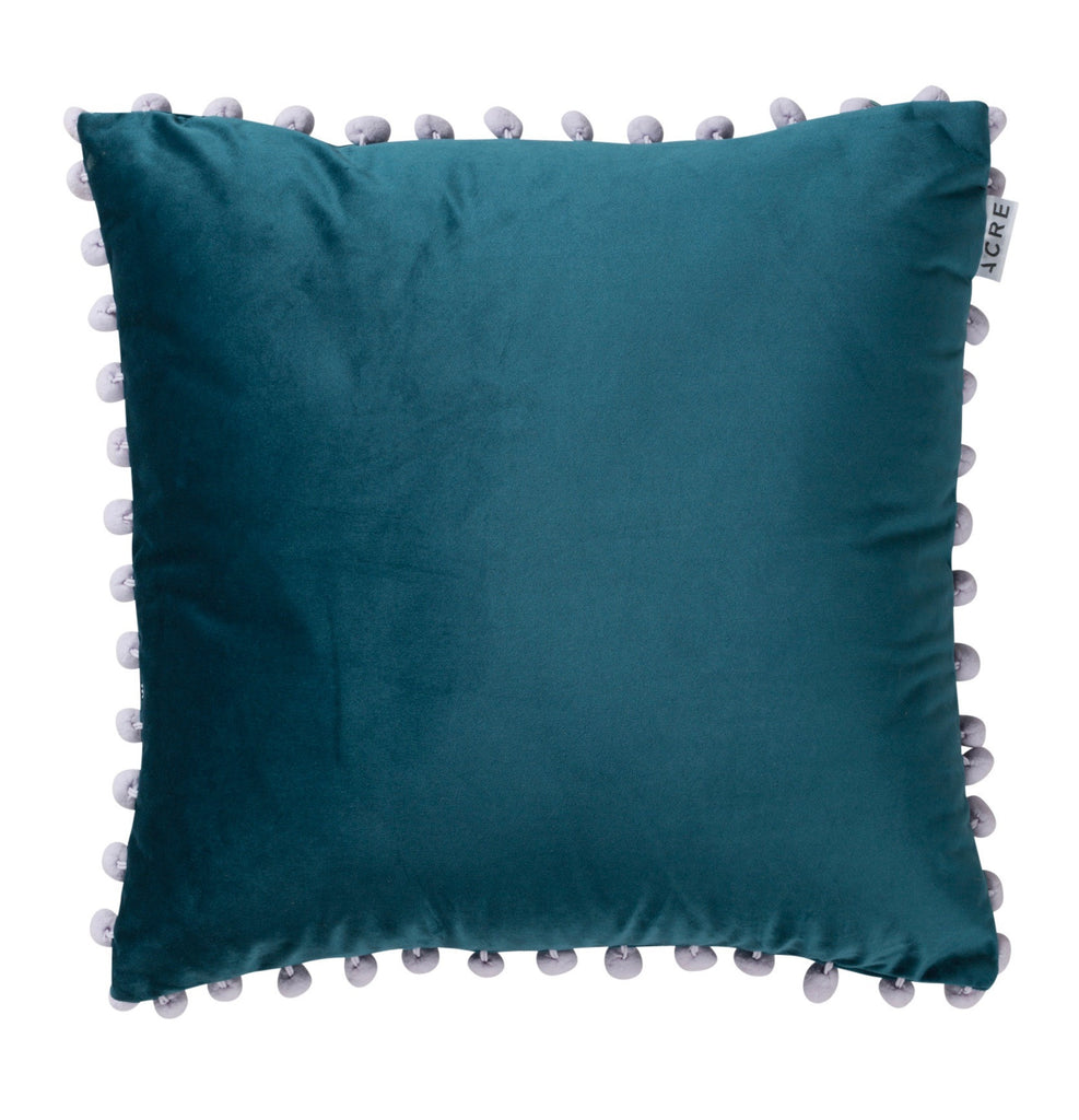 Velvet Bauble Cushion // Teal