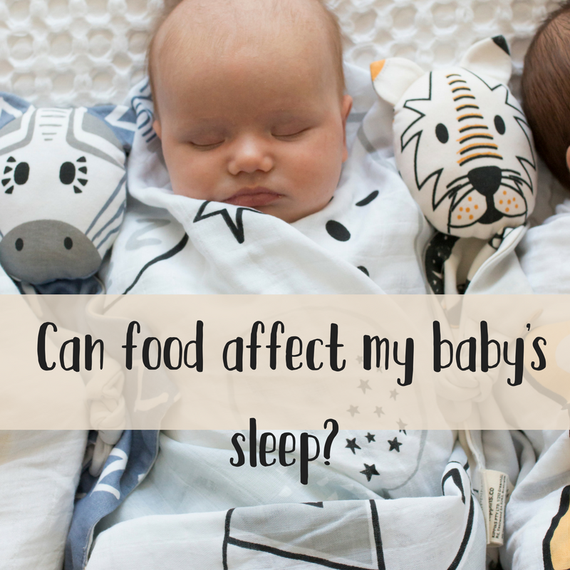 The Sleep Dept x Kippins. Food for thought: the link between baby sleep and diet