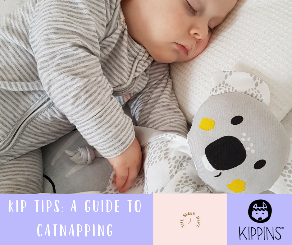The Sleep Dept x Kippins: Catnapping 101. What to do when those naps are (way too) short.
