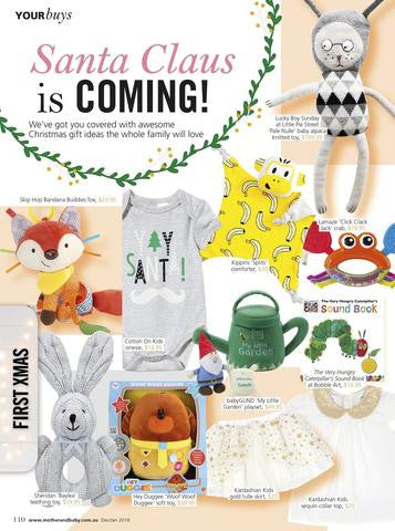 Christmas Gift Guide Magazine.Kippins In The News Mother Baby Christmas Gift Guide