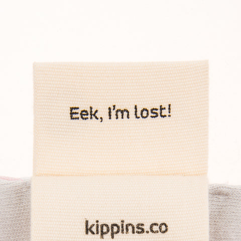Kippins label detail